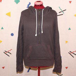 American Eagle Outfitters dark gray hoodie
